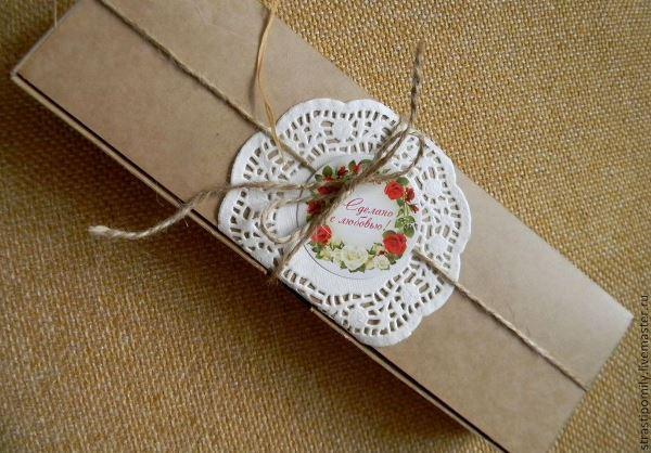 Подарочная упаковка в ЭКО стиле, фото № 11