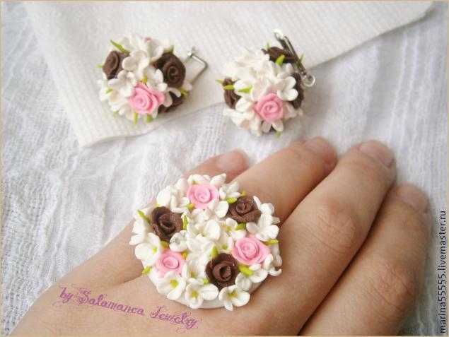цветы мк, кофейные розы