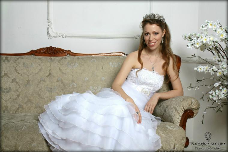 свадебные украшения, диадема для невесты
