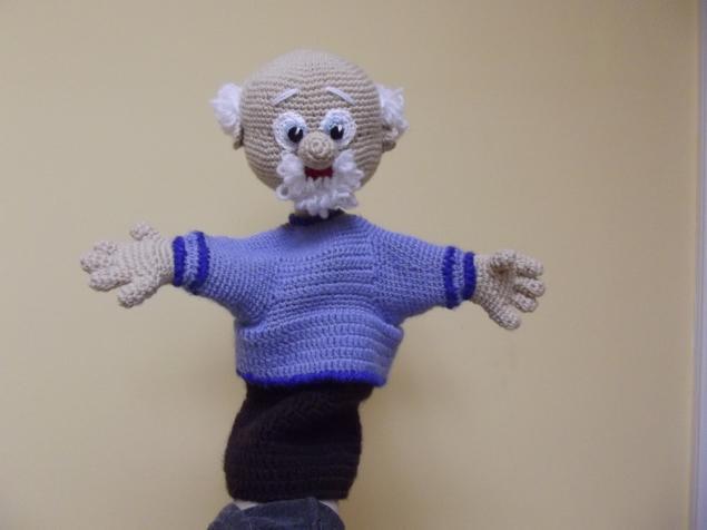 пальчиковый театр, кукла - перчатка
