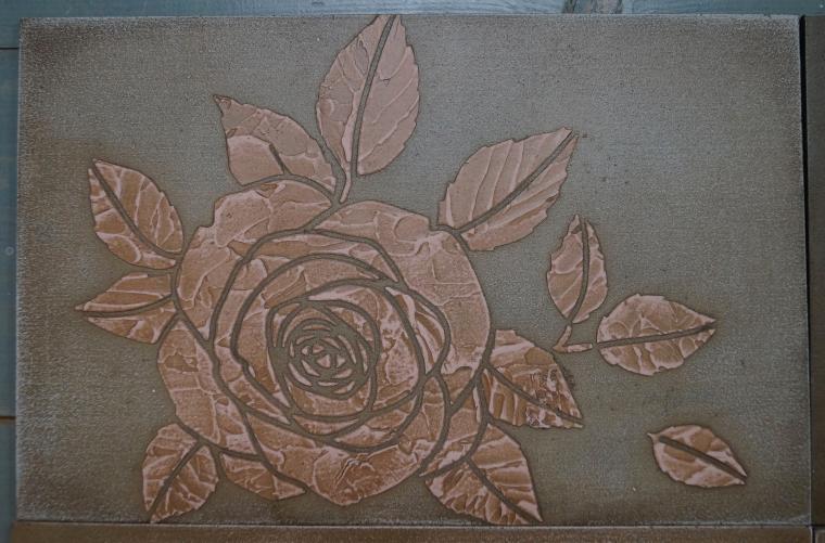 Тиснение орнамента на мебели. Мастерская Натальи Строгановой. Отчет. Часть 2, фото № 6