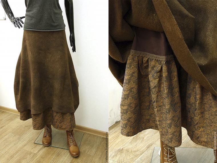 Шерстяные юбки выкройки