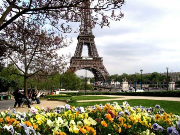 Весенний Париж, дыхание теплого ветра, фото № 1