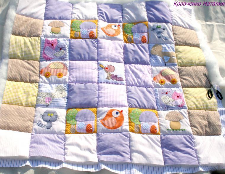 Как сшить стеганое одеяло  мастер класс 89