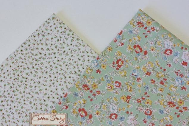 ткани для рукоделия, весна, куклы, наборы тканей