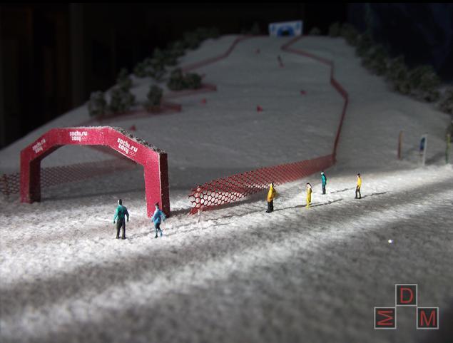 олимпиада 2014, макет