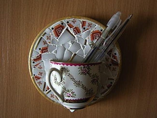 Декор посуды своими руками
