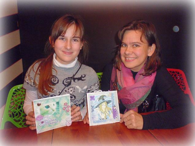 мк для детей, открытка, ткань
