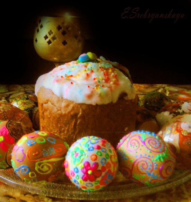 elena srebryanskaya, эльф серебристый, пасхальные яйца
