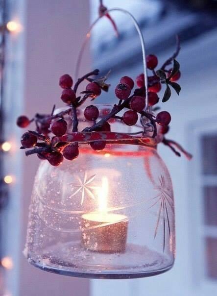 фото новогоднего декора, идеи для дачи, декор своими руками