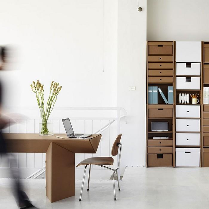 Мебель из картона в интерьере вашего дома 3 (700x700, 68Kb)