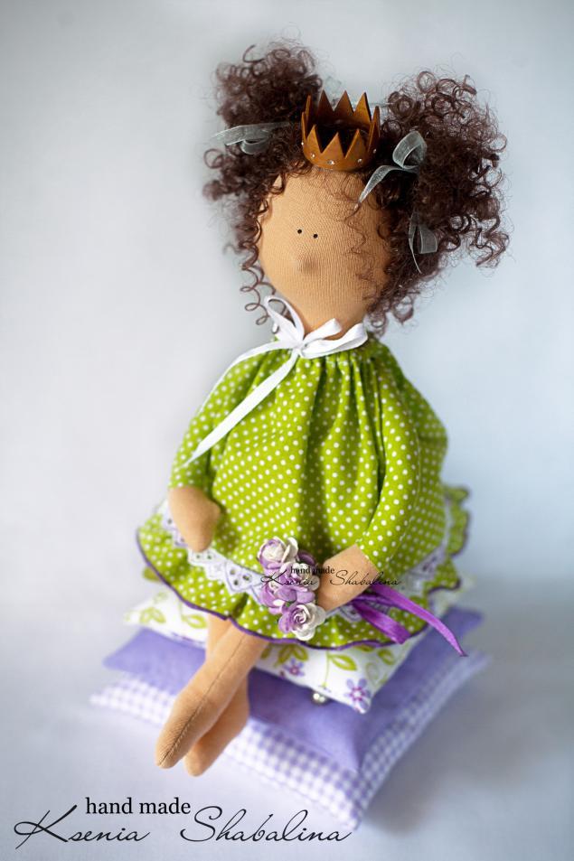 Блог мастера Ксения. Наборы для шитья кукол.