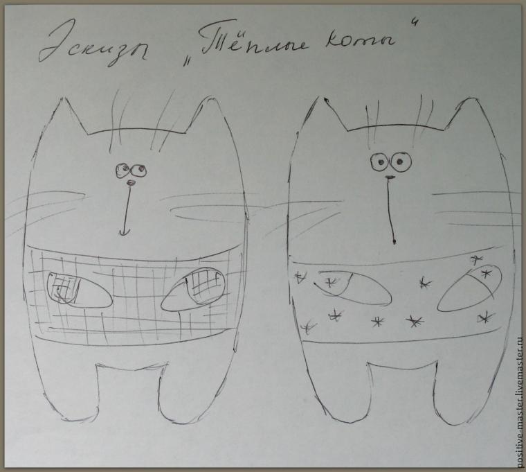 Пришло время шить теплых котов, фото № 1