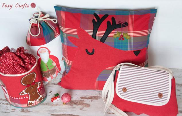 новый год, подарки на новый год, подушка, купить новогодние подарки, новогодняя коллекция