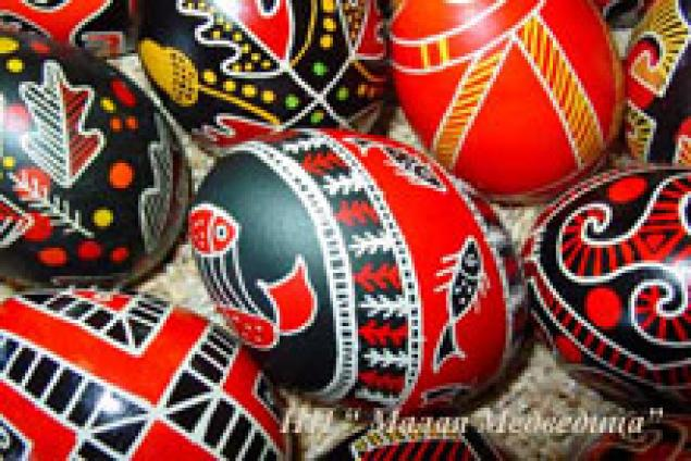 история писанки, яйцо, символы писанки