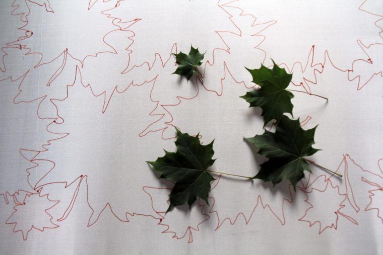 батик, осень