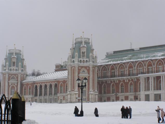 Царицыно в зимнем ракурсе., фото № 5