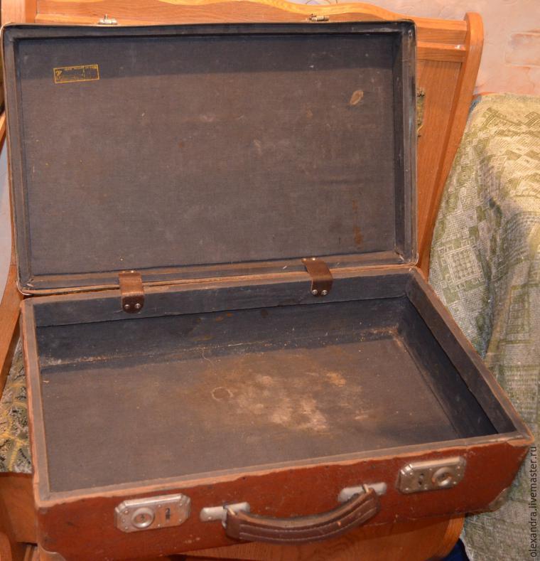 Старый чемоданчик превращается... в оригинальную полку, фото № 2