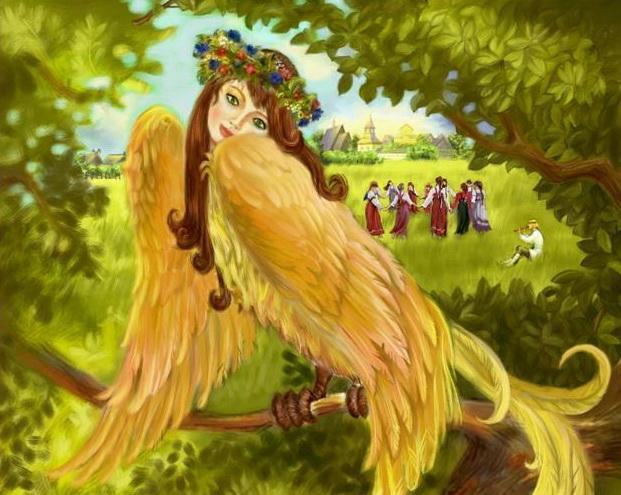 птицы в сказках и литературных произведениях