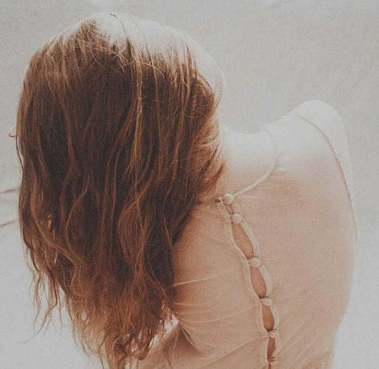 фото шатенок со спины прическа каре