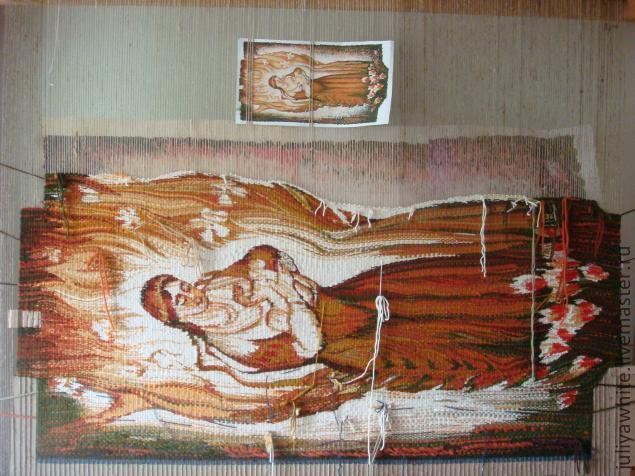 Ручное ткачество (Гобелен)