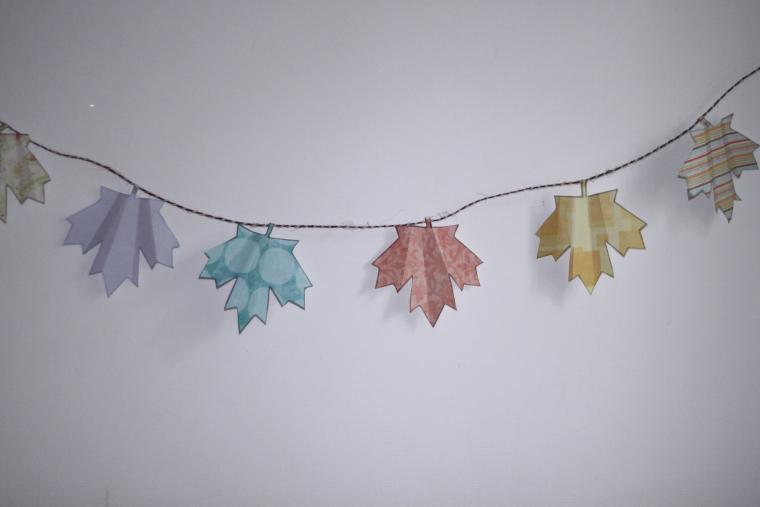 декор, листья