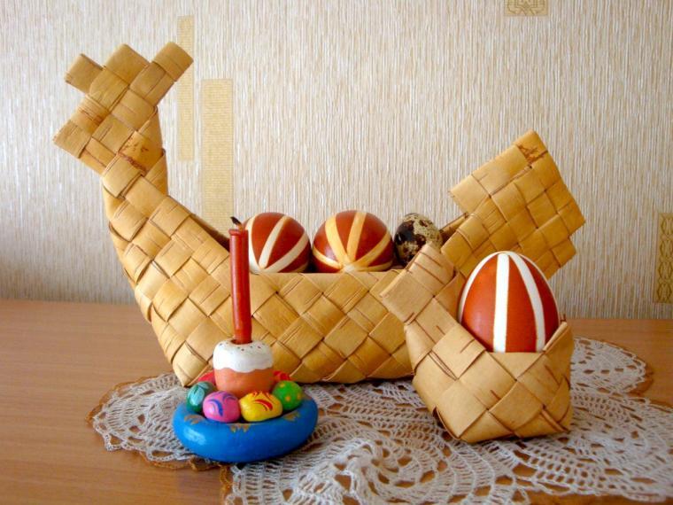 пасха, сувенир на пасху, пасха 2015, солонка в русском стиле