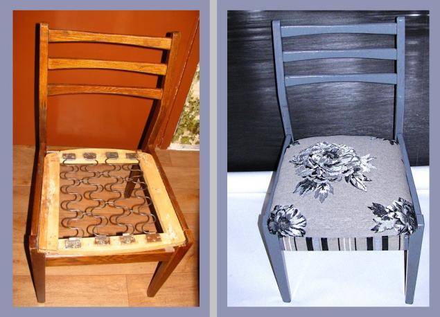 мебель, дизайн интерьера, переделка, стул, обивка, ремонт, реставрация
