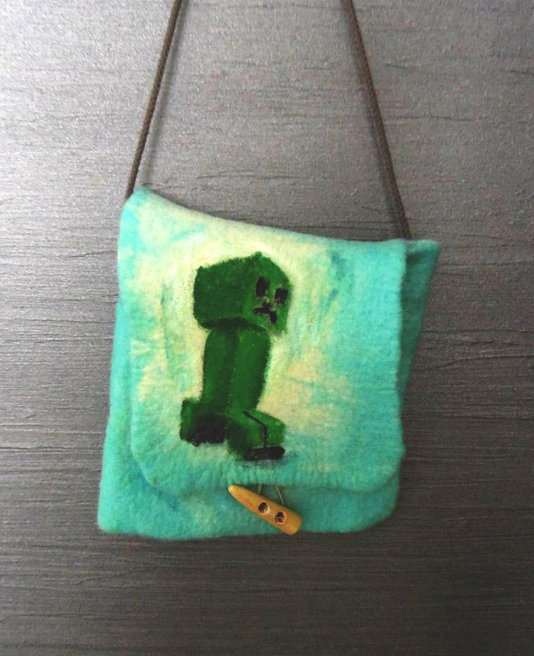 маленькая сумочка, сумочка для телефона, шерсть