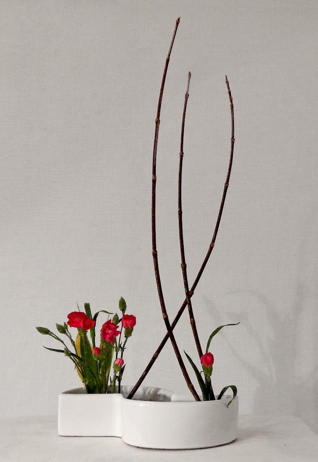 икебана, цветочная композиция