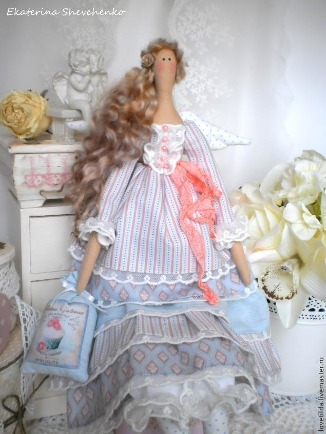 Как сшить платье с оборками для куклы