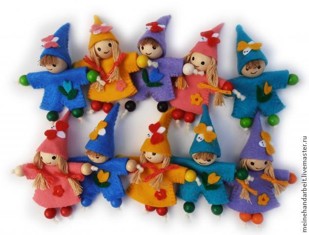 маленькие куклы своими руками