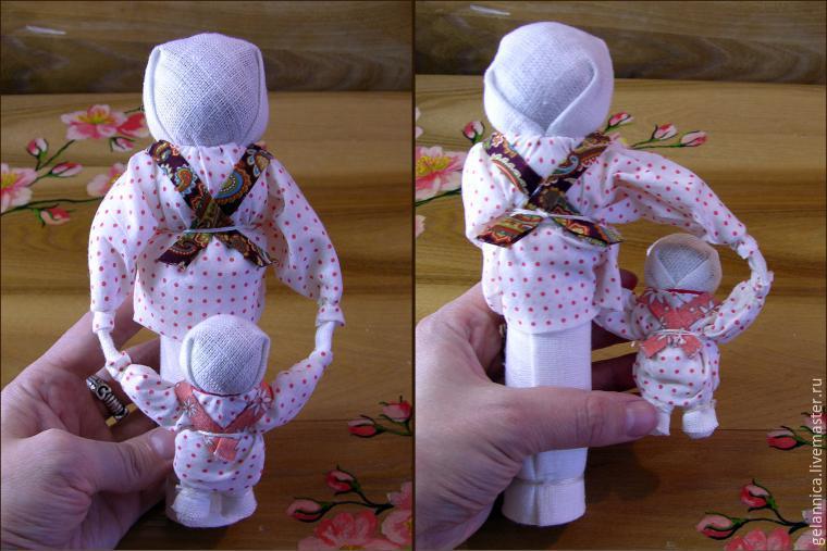 Мастер-класс «Народная кукла Ведучка» - Ярмарка Мастеров - ручная работа, handmade