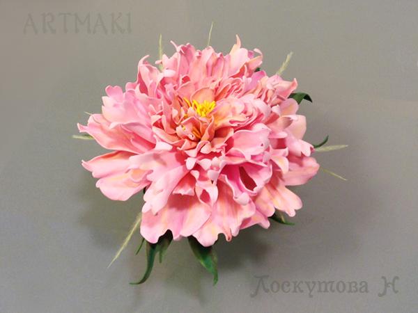 Цветы пионы из фоамирана своими руками