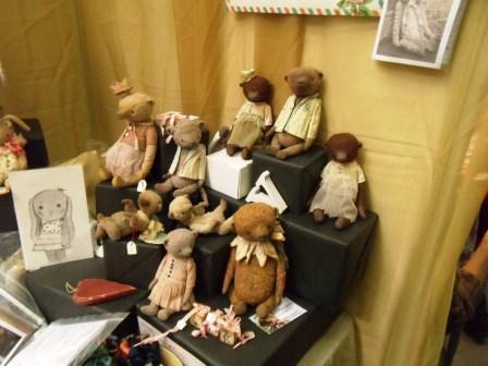 авторские мишки тедди