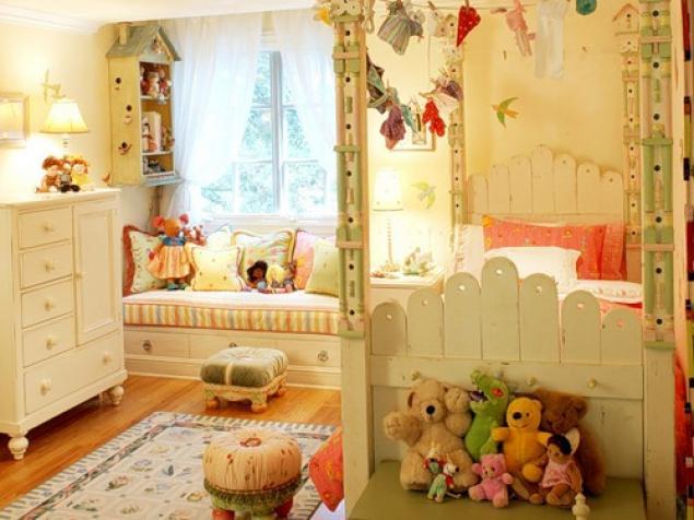Оформление детской комнаты своими руками для девочки и мальчика