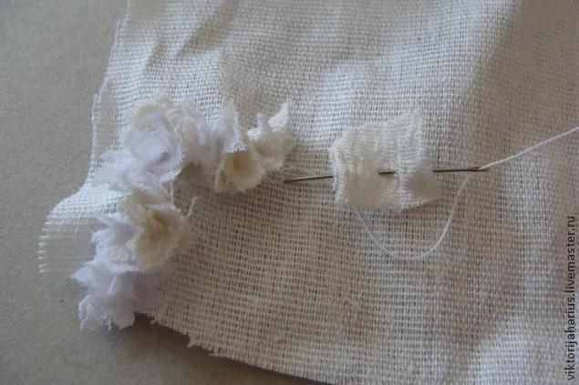 ткань для рукоделия, основа