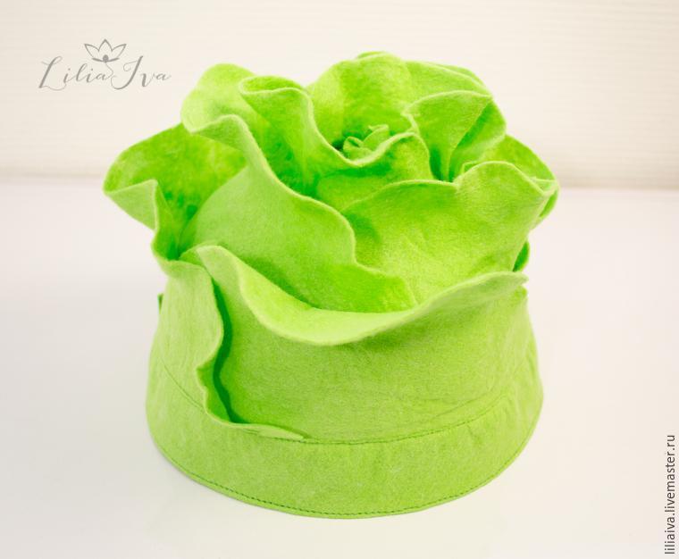 Шьем шапочку-капусту для детского капустника, фото № 16