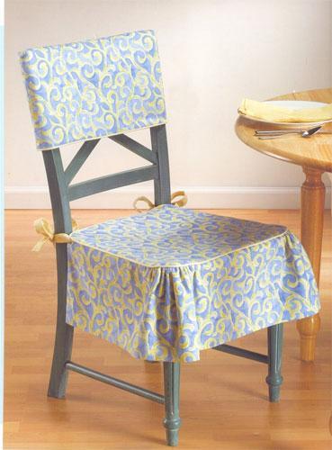 Накидка на стулья своими руками фото выкройки