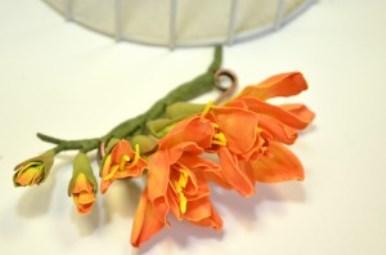 мастер-класс, студия крылья искусства, светлана ридзель, фоам, фоамиран, цветы из фоамирана, украшения, ревелюр