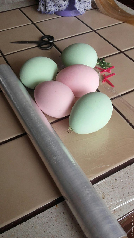 Делаем пасхальные яйца для праздничного интерьера, фото № 1