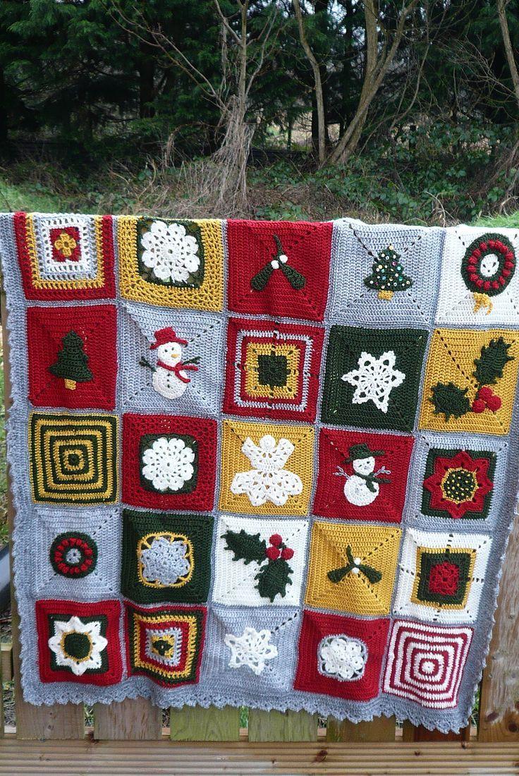 Ravelry: irishkiwi's 12 blocks of christmas