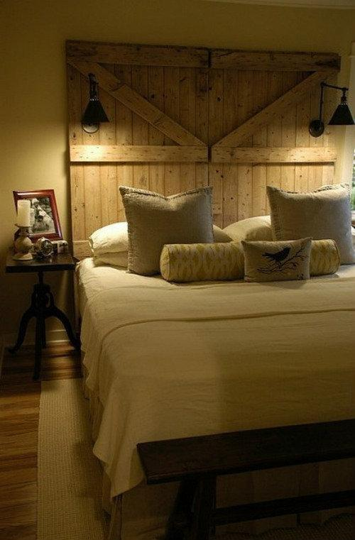 Headboard For Guest Room This Old Barn Doors