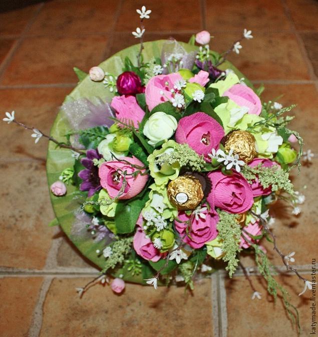 Флористика свадебные букеты своими руками #5