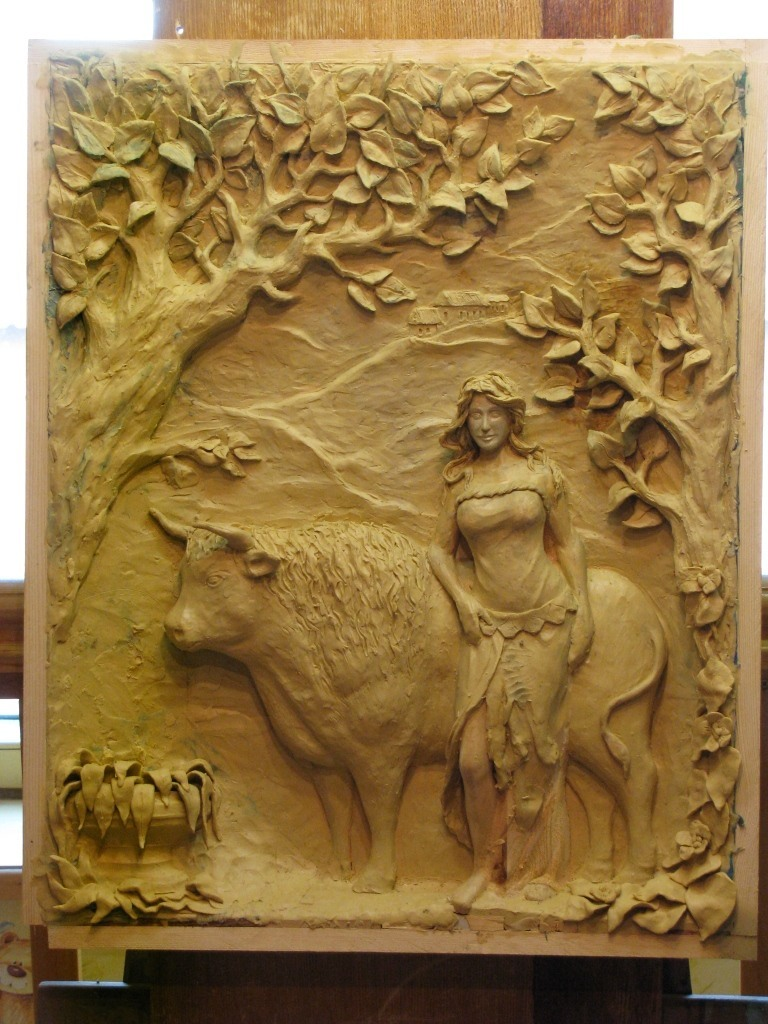 Мастер-класс по лепке модели для резной картины из дерева - Ярмарка Мастеров - ручная работа, handmade