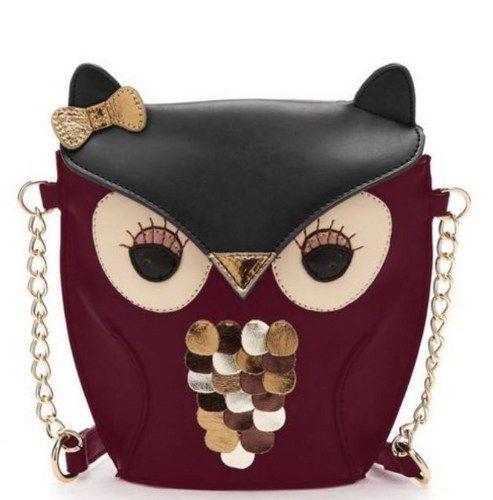 Red Bags Owl Purse Bag,Messenger Tote Purse Shoulder Bag Women   sariasknitncrochet - Bags  Purses on ArtFire