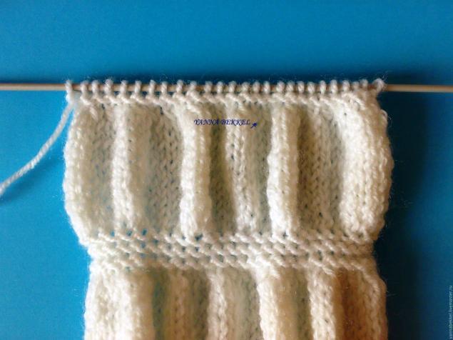 Вяжем повязку на голову «жатка», фото № 6