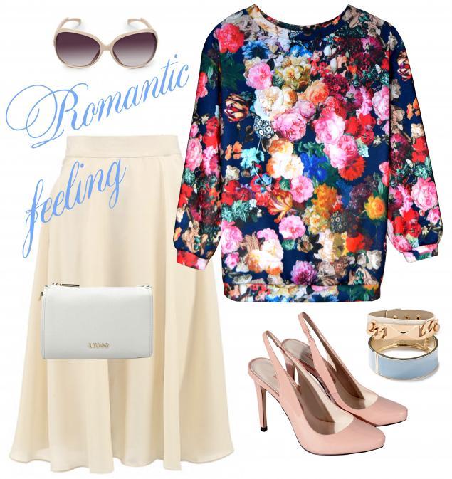 пуловер, дизайнерская одежда, pavocreations, цветы, акция