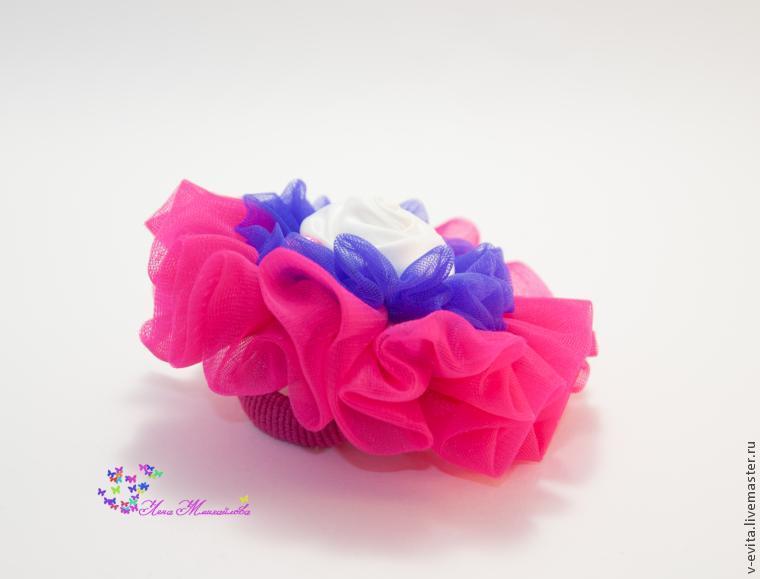 Делаем цветочек — текстильное украшение для волос, фото № 13