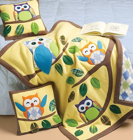 So I will be buying this today.  Congratulations to all the people around me having babies, you'll be getting an owl quilt. Lol.